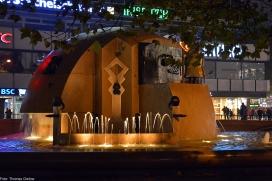 Weltkugelbrunnen, Wasserklops - Schmettau-Brunnen (Joachim Schmettau)