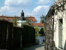 Fischernetz mit Schloss Köpenick