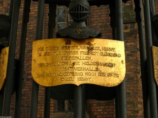 Schinkel-Denkmal auf dem Reformationsplatz Berlin Spandau