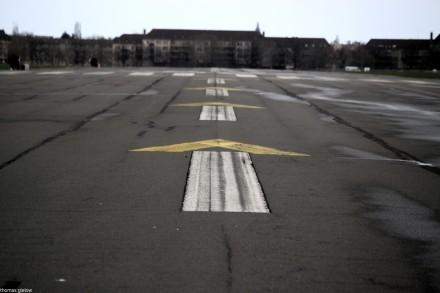 Tempelhofer Feld 2012 - Startbahn