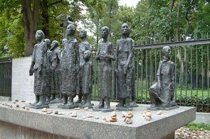Figurengruppe von Will Lammert, Große Hamburger Straße