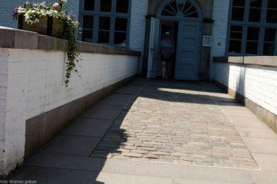 Schloss Ahrensburg - Eingang
