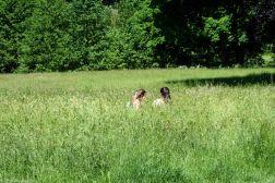 Mädchen im Schlosspark