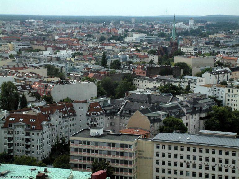 Charlottenburg-Wilmersdorf Blick Richtung Grunewald