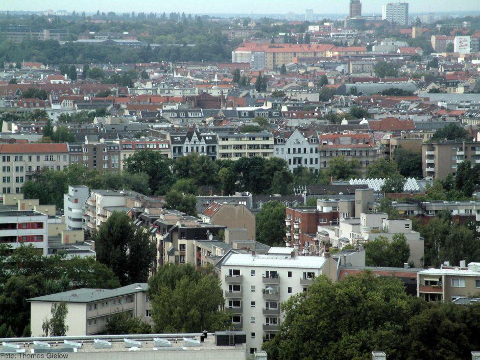 Charlottenburg-Wilmersdorf Blick nach Süd