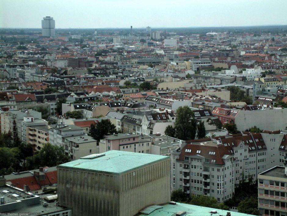 Charlottenburg-Wilmersdorf Blick nach Südwest