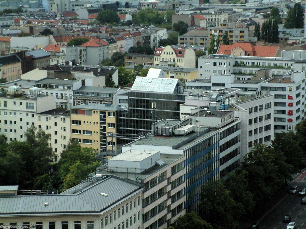 Häuser an der Bismarckstraße