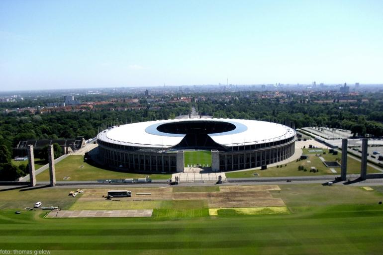 Olympiastadion - Maifeld