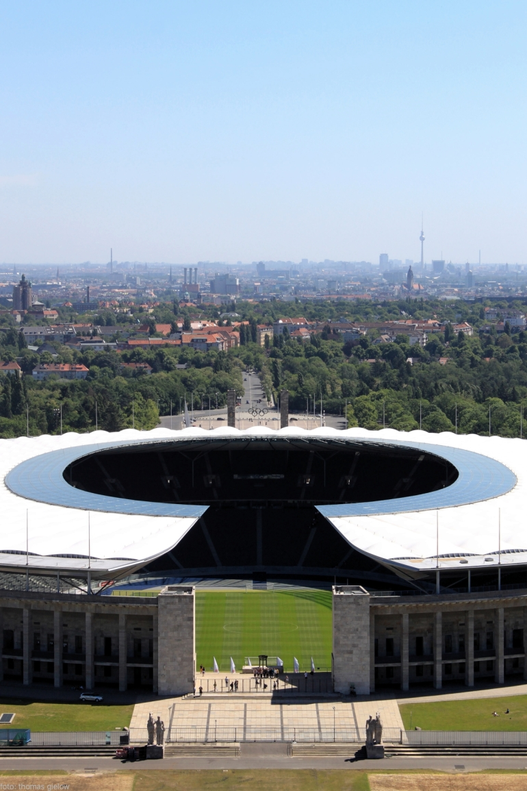 Olympiastadion Skyline Berlin
