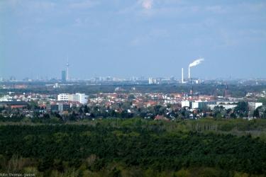 Blick Richtung Berlin-Zentrum