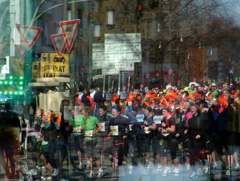 reflection halfmarathon berlin 1