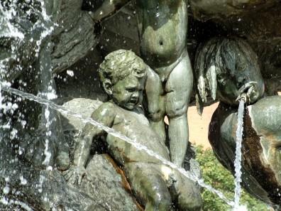 Figur des Neptunbrunnen - Berlin Mitte