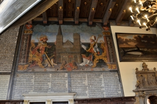 Wandgemälde Oberer Festsaal