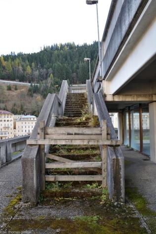 Aufgang zum Dachgarten