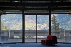 Eingangshalle - Blick in das Gasteiner Tal