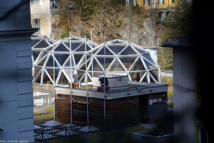 Dachgarten mit Lichtkuppel - Thermencongress Badgastein