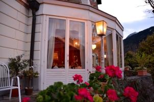 Hotel Villa Excelsior - Restaurant mit Panoramablick