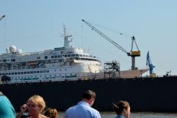 Kreuzfahrtschiff Albatros im Trockendock